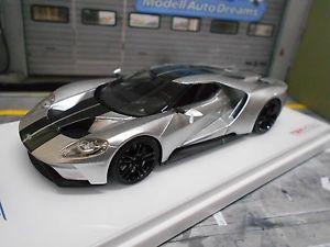 【送料無料】模型車 モデルカー スポーツカー フォードグアテマラグアテマラオートショーシカゴシルバーford gt gt40 american int auto show 2015 chicago silber resin tsm 143
