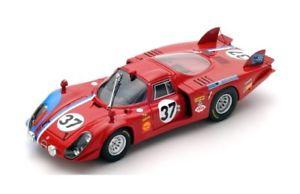 【送料無料】模型車 モデルカー スポーツカー アルファロメオスロットメーカー#ルマンスパークalfa romeo t332 37 piletteslotemaker le mans 1968 spark 143 s4369