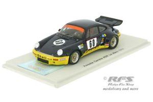 【送料無料】模型車 モデルカー スポーツカー ポルシェカレラルマンハイヤーセラークレーメルスパークporsche 911 carrera rsr 24h le mans 1974 heyer keller kremer 143 spark 5087