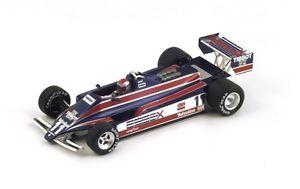 【送料無料】模型車 モデルカー スポーツカー ロータス#アンドレッティモナコグランプリスパークlotus 81 11 mandretti gp monaco 1980 spark 143 s4285