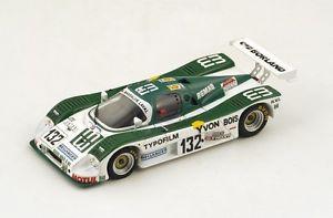 【送料無料】模型車 モデルカー スポーツカー ザウバー#バススパークルマンsauber c6 132 basryvonpochauvin le mans 1988 spark 143 s4083