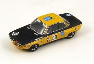【送料無料】模型車 モデルカー スポーツカー #マルコキロニュルブルクリンクスパークシングルbmw 2800 cs 63 hmarko winner 300km nrburgring 1970 spark 143 sg018