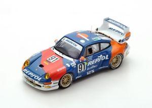 【送料無料】模型車 モデルカー スポーツカー ポルシェグアテマラ#ラニーニャカストロルマンスパークporsche 911 gt2 91 borbnsaldaacastro le mans 1995 spark 143 s5512