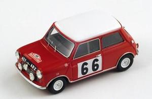 【送料無料】模型車 モデルカー スポーツカー モーリスミニクーパー#スコットラリーモンテカルロスパークmorris mini cooper 66 hopkirkscott rally monte carlo 1963 spark 143s1188