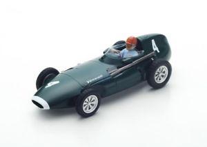 【送料無料】模型車 モデルカー スポーツカー #ブルックスグランプリベルギースパークvanwall vw57 4 tbrooks winner gp belgium 1958 spark 143 s4872