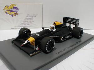 【送料無料】模型車 モデルカー スポーツカー スパークティレルモナコフォーミュラジョナサンパーマーspark s4862 tyrrell 017 3 5th monaco gp formel 1 1988 jonathan palmer 143