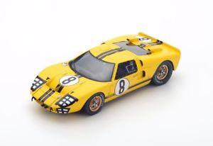 【送料無料】模型車 モデルカー スポーツカー フォード#ルマンスパークford mk2 8 gardnerwhitmore le mans 1966 spark 143 s5184