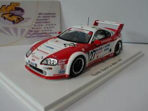 【送料無料】模型車 モデルカー スポーツカー スパークトヨタスープラルマンspark s2388 toyota supra gt lm 27 14th 24h le mans 1995 143