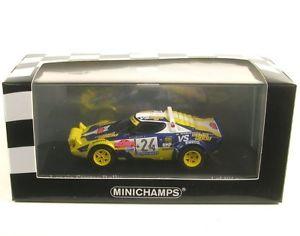 【送料無料】模型車 モデルカー スポーツカー ランチアサンレモラリーlancia stratos 24 san remo rally 1980 ftabaton eradaelli