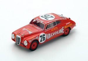 【送料無料】模型車 モデルカー スポーツカー ランチアアウレリア#パンアメリカンハイウェイスパークlancia aurelia b20 26 magliolibornigia panamericana 1952 spark 143 s2442