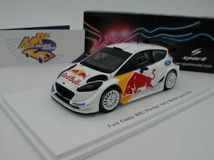 【送料無料】模型車 モデルカー スポーツカー スパークフォードフィエスタラリーモンテカルロテストレッドブルspark s5172 ford fiesta wrc pretest rally monte carlo 2018 red bull 143