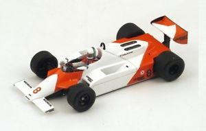 【送料無料】模型車 モデルカー スポーツカー マクラーレン#モナコグランプリスパークmclaren mp41 8 ade cesaris gp monaco 1981 spark 143 s4301