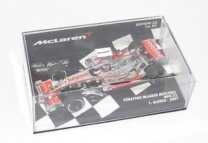 【送料無料】模型車 モデルカー スポーツカー ボーダフォンマクラーレンメルセデスシーズンフェルナンドアロンソ143 vodafone mclaren mercedes mp422  2007 season  fernando alonso