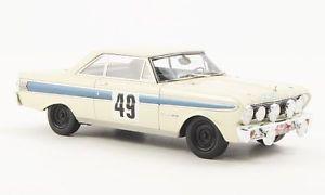 【送料無料】模型車 モデルカー スポーツカー フォードファルコンフューチュラ#フィールドラリーモンテカルロネオford falcon futura 49 ljungfeldsager rally monte carlo 1964 neo 14345670