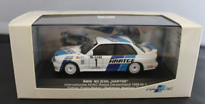 【送料無料】模型車 モデルカー スポーツカー モデルカーmodellauto 143 hekorsa bmw m3 e30 hartage, 1988 , neu
