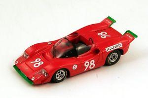 【送料無料】模型車 モデルカー スポーツカー アバルトスポーツ#タルガフローリオスパークabarth sport 2000 98 taramazzovirgilio targa florio 1970 spark 143 s1324