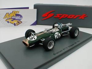 【送料無料】模型車 モデルカー スポーツカー スパークブラバムベルギーデニーヒュームspark s5254 brabham bt19 nr 26 belgien gp 1967 denny hulme 143 neu