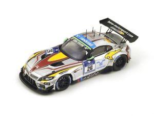 【送料無料】模型車 モデルカー スポーツカー グアテマラ#キャッスルニュルブルクリンクスパークシングルbmw z4 gt3 26 leinderspalttalacatsburg nrburgring 2014 spark 143 sg153