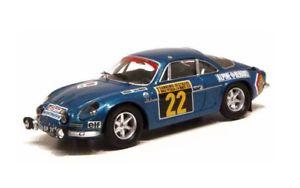 【送料無料】模型車 モデルカー スポーツカー ルノーアルパイン#ヘンリーサンレモrenault alpine a110 1600 22 therier san remo 1970 trofu 143 0820