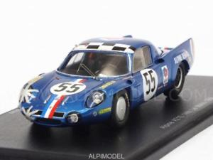 【送料無料】模型車 モデルカー スポーツカー アルパイン#ルマンスパークalpine a210 55 le mans 1968 andruet 143 spark s4375