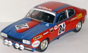 【送料無料】模型車 モデルカー スポーツカー フォードカプリ#ルマンford capri 84 rougetgeurie le mans 1972 trofu 143 2315