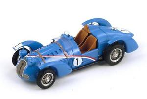【送料無料】模型車 モデルカー スポーツカー #カイロンルマンスパークdelahaye 145 1 dreyfuschiron le mans 1938 spark 143 s2725