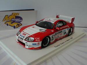 【送料無料】模型車 モデルカー スポーツカー スパークトヨタスープラルマンspark s2389 toyota supra nr 57 24h le mans 1996 m kageyama m sekiya 143