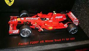 【送料無料】模型車 モデルカー スポーツカー キミライコネンフェラーリフルカラーリングredline ferrari f2007 kimi raikkonen 143 full livery