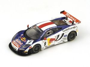 【送料無料】模型車 モデルカー スポーツカー マクラーレン#ローブスパークmclaren mp412c 9 loebparente winner navarra fia gt 2013 spark 143 sf065
