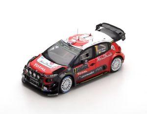 【送料無料】模型車 モデルカー スポーツカー シトロエンラリー#モンテカルロスパークcitron c3 wrc 7 meekenagle rally monte carlo 2017 spark 143 s5155