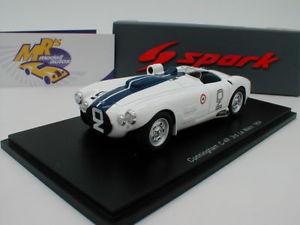 【送料無料】模型車 モデルカー スポーツカー スパークカニンガムルマンスピアジョンソンspark s2727 cunningham c4r 24h le mans 1954 w spear s johnson 143