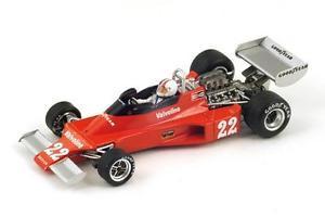【送料無料】模型車 モデルカー スポーツカー #アモングランプリスパークベルギーensign n176 22 camon gp belgium 1976 spark 143 s1830