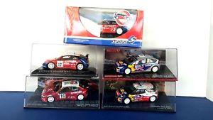 【送料無料】模型車 モデルカー スポーツカー ネットワーク×シトロエンラリーコレクションモデルx3 143 ixo x1 solido citroen wrc rally collection c4 ds3 xsara free model