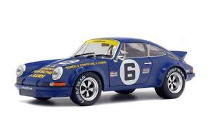【送料無料】模型車 モデルカー スポーツカー ポルシェ#デイトナporsche 911 rsr sunoco 6 donohuefollmer daytona 1973 solido 118 184530