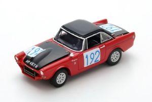 【送料無料】模型車 モデルカー スポーツカー サンビームタイガー#タルガフロリオハーパージョーンズsunbeam tiger 192 harperjones targa florio 1965 spark 143 s4062