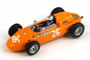 【送料無料】模型車 モデルカー スポーツカー ポルシェ#グランプリスパークporsche 718 26 gmitter gp germany 1963 spark 143 s1862