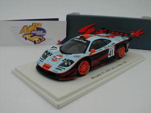 【送料無料】模型車 モデルカー スポーツカー スパークマクラーレンルマンチームガルフレーシングspark s5083 mclaren f1 gtr 24h le mans 1997 41 team gulf racing 143 neu
