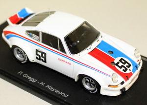 【送料無料】模型車 モデルカー スポーツカー ポルシェカレラスパークスケールダ#デイトナspark 143 scale 43da73 porsche 911 carrera rsr 59 winner daytona 24h 1973