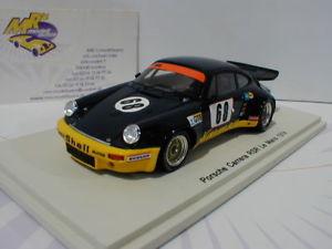 【送料無料】模型車 モデルカー スポーツカー ポルシェカレラスパークルマンチームクレーメルspark s5087 porsche 911 carrera rsr 24h lemans 1974 68 team kremer 143