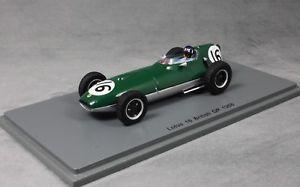 【送料無料】模型車 モデルカー スポーツカー スパークロータスグランプリグラハムヒルspark lotus 16 british grand prix 1958 graham hill s5340 143