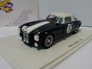 【送料無料】模型車 モデルカー スポーツカー スパークルマンspark s4721 d20 c 30 le mans 1953 p taruffi u maglioli 143