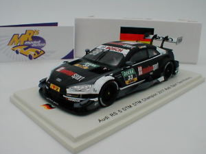 【送料無料】模型車 モデルカー スポーツカー スパークアウディチームロズベルグspark sg341 audi rs 5 nr 33 dtm gewinner 2017 team rosberg ren rast 143