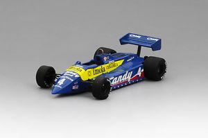 【送料無料】模型車 モデルカー スポーツカー ティレルレーシングチーム#モナコグランプリブライアンtsm154359 143 tyrrell racing team 011 4 1982 monaco gp 8th place brian henton