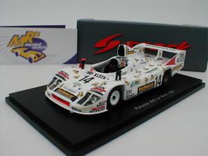 【送料無料】模型車 モデルカー スポーツカー スパークポルシェルマンspark s5502 porsche 936 le mans 1981 whitttingtonjoestniedzwiedz 143