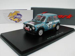 【送料無料】模型車 モデルカー スポーツカー スパークモンテカルロラリームートンspark s3640 autobianchi a112 monte carlo rally 1977 moutonconconi 143 neu