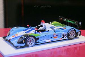 【送料無料】模型車 モデルカー スポーツカー レースルマンスパークcourage c65 lmp2 n36 belmondo racinggulf 24h mans 2005 spark 143