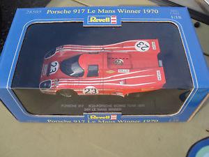 【送料無料】模型車 モデルカー スポーツカー #ルマンレースカーレースrevell 118 28505 porsche 917 23 le mans race winner 1970 racing car neu