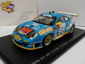【送料無料】模型車 モデルカー スポーツカー スパークダポルシェグアテマラデイトナspark 43da03porsche 911 996 gt3 rs no66 24h daytona 2003 143