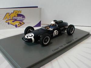 【送料無料】模型車 モデルカー スポーツカー スパーククーパーベルギーフォーミュラチョspark s4804 cooper t60 nr 12 5th belgien gp formel 1 1963 jo bonnier 143