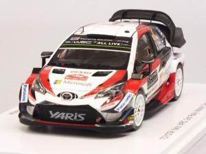 【送料無料】模型車 モデルカー スポーツカー トヨタヤリスラリーモンテカルロ#スパークtoyota yaris wrc 8 rally monte carlo 2018 tanak 143 spark s5958